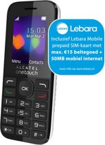ALCATEL 10.16 DualSim - Lebara Prepaid - Wit