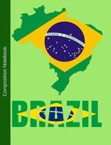 Brazil Composition Notebook