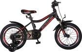 Speedo 16 inch jongensfiets Alu frame Zwart /Rood