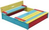 Swing King houten zandbak Sepp multikleur 7850035