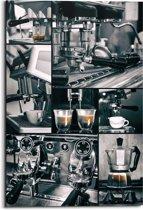 REINDERS Espresso - Schilderij - 60x90cm