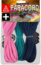 Paracord Set - Special Collection (Roze / Mint / Donkerblauw)