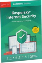 Kaspersky Internet Security | 3 Apparaten | 2 Jaar | Engelse verpakking | Alle Europese talen