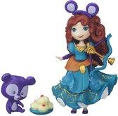 Disney Princess Mini Prinses Merida met vriendje - Speelfiguur
