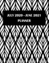 July 2020-June 2021 Planner