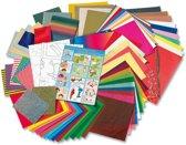 Folia Mega Papier Knutselkoffer A040006 - 50 knutselvoorbeelden