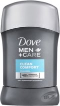 Dove For Men Men Stick Clean Comfort Deodorant