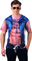 St. Fotorealistisch shirt Rough (L)