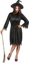 Heksen outfit voor vrouwen - Halloween verkleedkleding - One size (M/L)