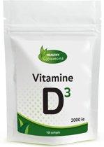 Vitamine D 3 2000ie - Extra Sterk - 100 caps