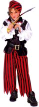 Verkleedpak Piraat Jongen Zwarthart