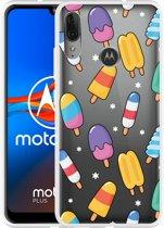Motorola Moto E6 Plus Hoesje Ice cream 2