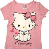 Hello Kitty Meisjes T-shirt roze 116