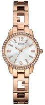 GUESS Watches - W0568L3 Charming - Horloge - 27.5 mm - Rosékleurig