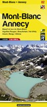 Libris Wanderkarte 02 Mont Blanc Annecy 1 : 60 000