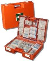 EHBO verbandkoffer BHV met wandbeugel en bevestigingsmateriaal