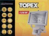 Bouwlamp 150 watt met sensor