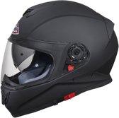 Helm SMK Twister Mat Zwart ECE 22-05 certificering M scooter/motor