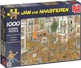 Jan van Haasteren De Inhuldiging Oranje Gekte - Puzzel - 1000 stukjes