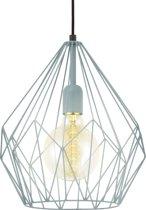 EGLO Vintage Carlton - Hanglamp - 1 Lichts - Ø310mm. - Mint