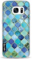 Casetastic Aqua Moroccan Tiles - Samsung Galaxy S7