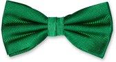 E.L. Cravatte Strik - Groen - 100% Zijde Vlinderdas