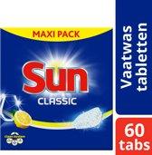 Sun Classic Citroen vaatwastabletten - 60 stuks - Met frisse citroengeur