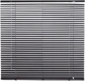 Intensions - Aluminium Jaloezie - 25 mm - Uni Zwart - 80x130 cm