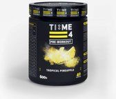 Time 4 Nutrition - Pre Workout - Tropical Pineapple - 600g - 40 servings
