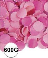 Roze confetti 600 gram