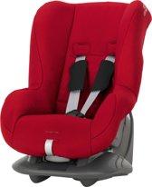Romer Eclipse (kleur Rood) vliegtuigstoel autostoeltje (geschikt voor 2 en 3-puntsgordel). Exclusief vliegtuigset. Uiteraard geschikt voor in de auto.