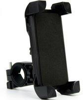 Fiets Universele Telefoonhouder - Telefoonhouder Fiets - Smartphone Houder - Schokbestendig - Geschikt Voor Alle Toestellen - Geschikt Voor Alle Fietsen - Zwart
