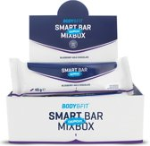 Body & Fit Smart Bars Crunchy - Eiwitreep - 1 doos (12 eiwitrepen) - Mix Box
