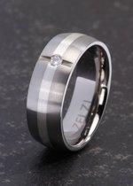 ZELZI Titanium ring: Aspasia 17 millimeter