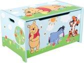 Disney Winnie The Pooh Speelgoedkist 60 X 36 X 39 Cm Lichtblauw