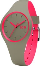 Ice-Watch ICE duo DUO.KPK.S.S.16 - Horloge - Kunststof - Khaki - 34 mm