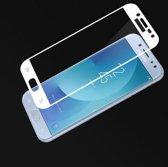 2 stuks - Xssive - Full Cover Glasfolie voor Samsung Galaxy J5 2017 J530 - Tempered Glass - Wit
