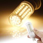 G9 6W maïs gloeilamp, 72 LED SMD 2835, warm wit licht, AC 220V