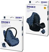 Dooky Combi Pack Hoody & Seat Cover 0+ - Blue Tribal