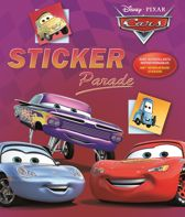 Disney Cars Parade - Stickerboek - met herbruikbare stickers