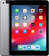 Apple iPad (2018) - WiFi + Cellular (4g) - 32GB - Spacegrijs