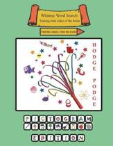 Whimsy Word Search Coloring Books, Hodge Podge, Pictograms