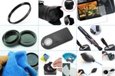 10 in 1 accessories kit: Canon 77D + 18-55MM IS STM