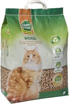 Happy Home Natural Wood - Kattenbakvulling - 10 l