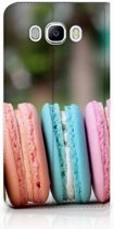 Samsung Galaxy J7 2016 Standcase Hoesje Design Macarons