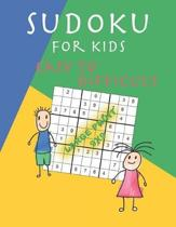 Sudoku for kids easy to difficult - Large print 9x9