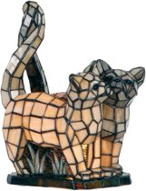 Tiffany Katten - Tafellamp - 36 x 28 cm