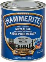 Hammerite Hoogglanslak Zilver Grijs 750 ML