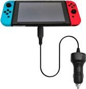 Shop4 - Nintendo Switch - Type-C Oplader Autolader Snellader Zwart
