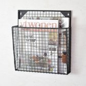 LOFT42 - Maggy Gaas - Tijdschriftenrek - Small - Zwart - Metaal